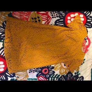 Marigold Loft lace dress